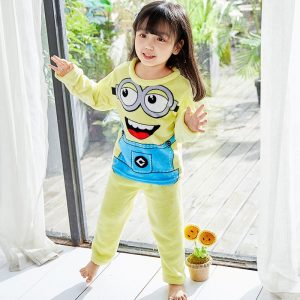 Cute Minion Style Shirt and trouser for Baby Girls
