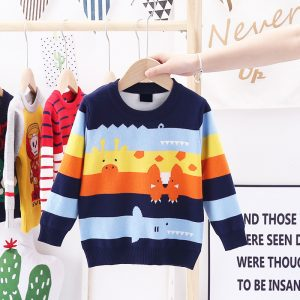 lining pullover sweater